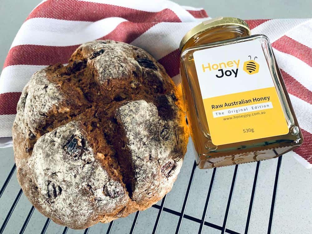 Honey and sourdough