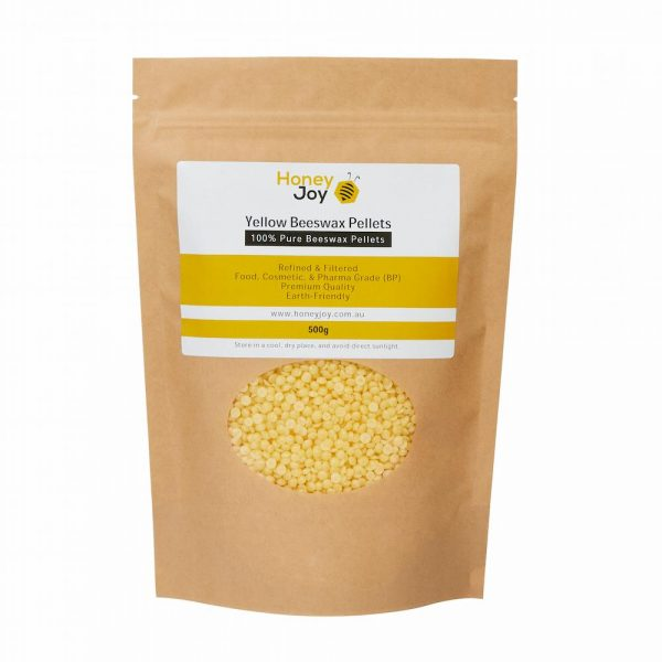 Yellow Beeswax Pellets