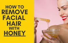 How to Remove Facial Hair Permanently With Honey?
