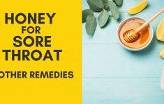 Honey for Sore Throat: Is It Helpful?